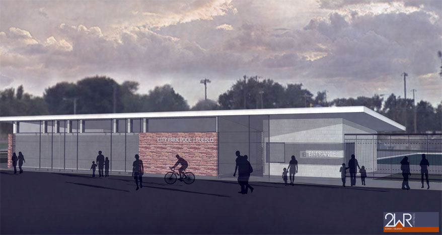 Architect Rendering - City Park Pool
