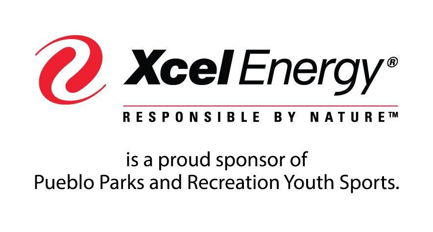 Xcel - Proud sponsor of Pueblo Parks and Recreation Youth Sports
