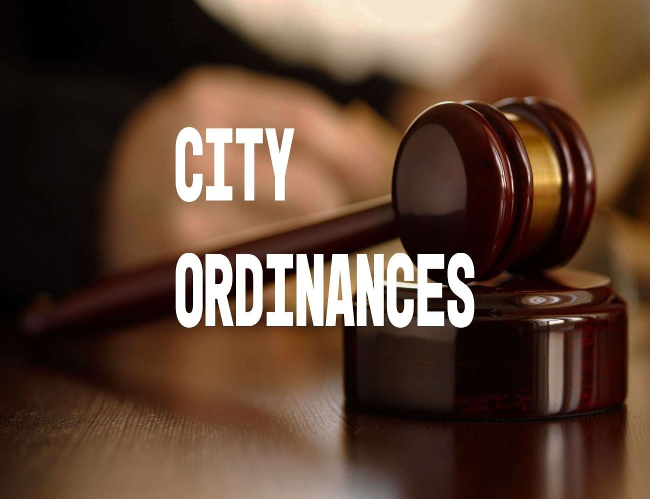 Image of City Ordinances