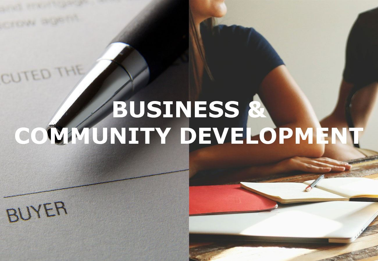 Business and Community Development