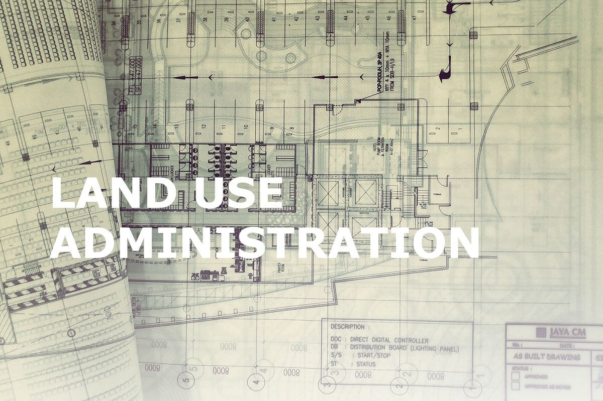 land use administration