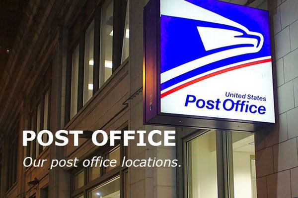 post office  our post office locations