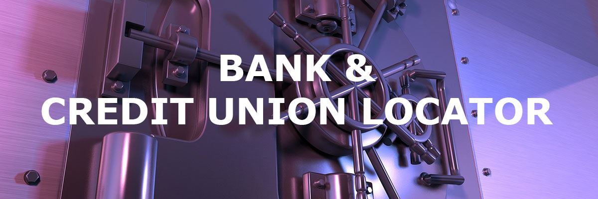 bank & credit union locator