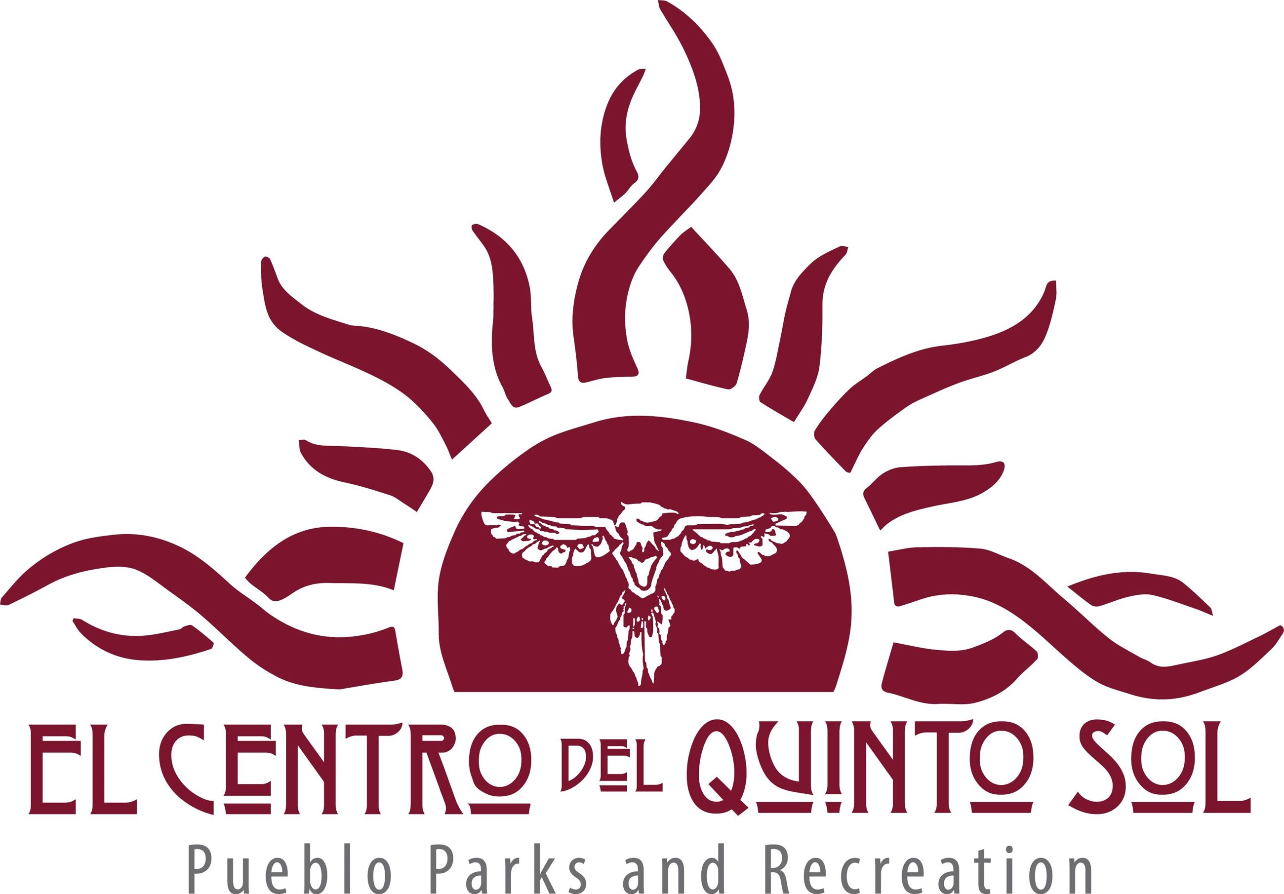 El Centro Logo with sun and Eagle