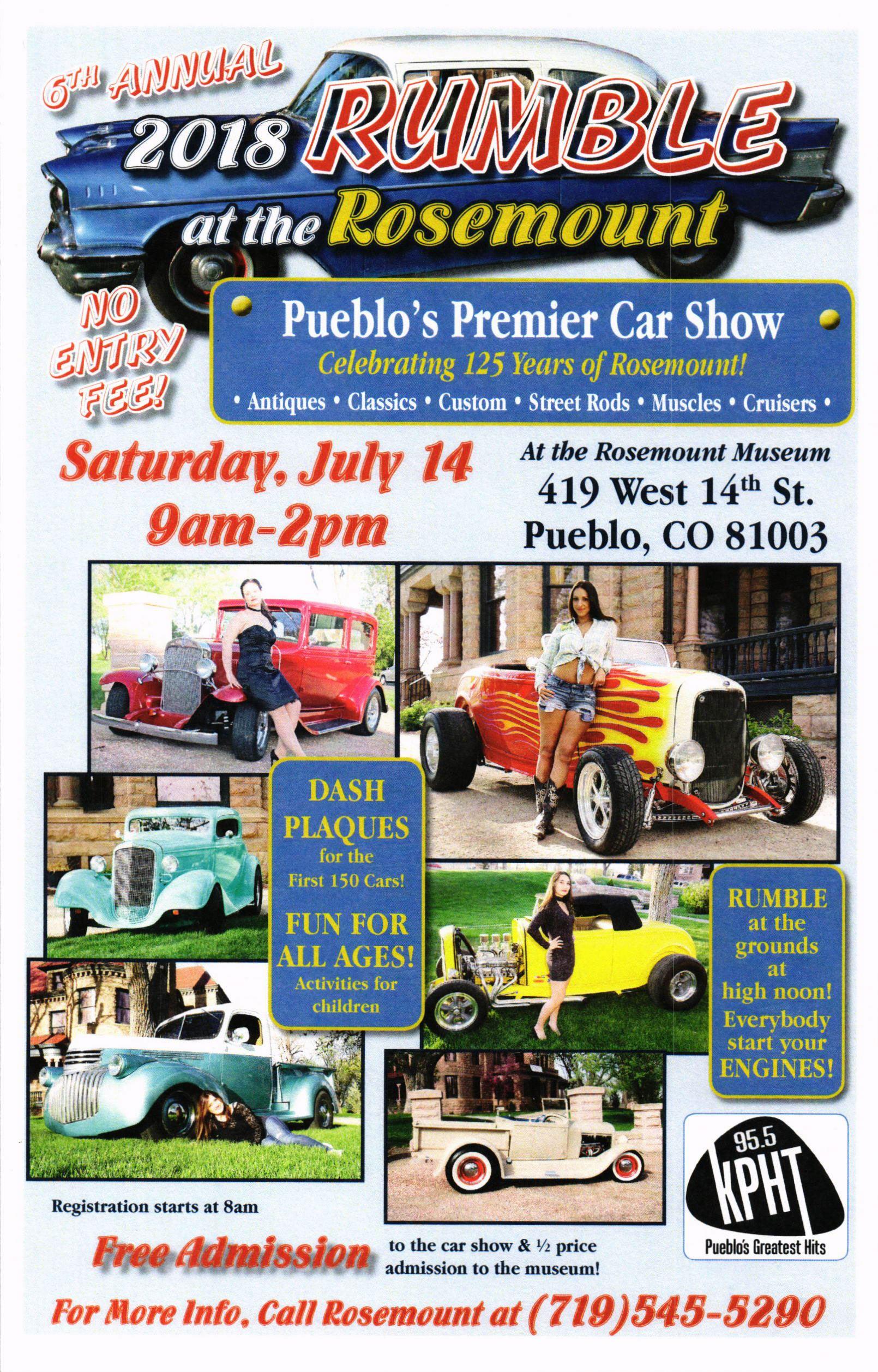 Pueblo CO Official Website - Pueblo car show