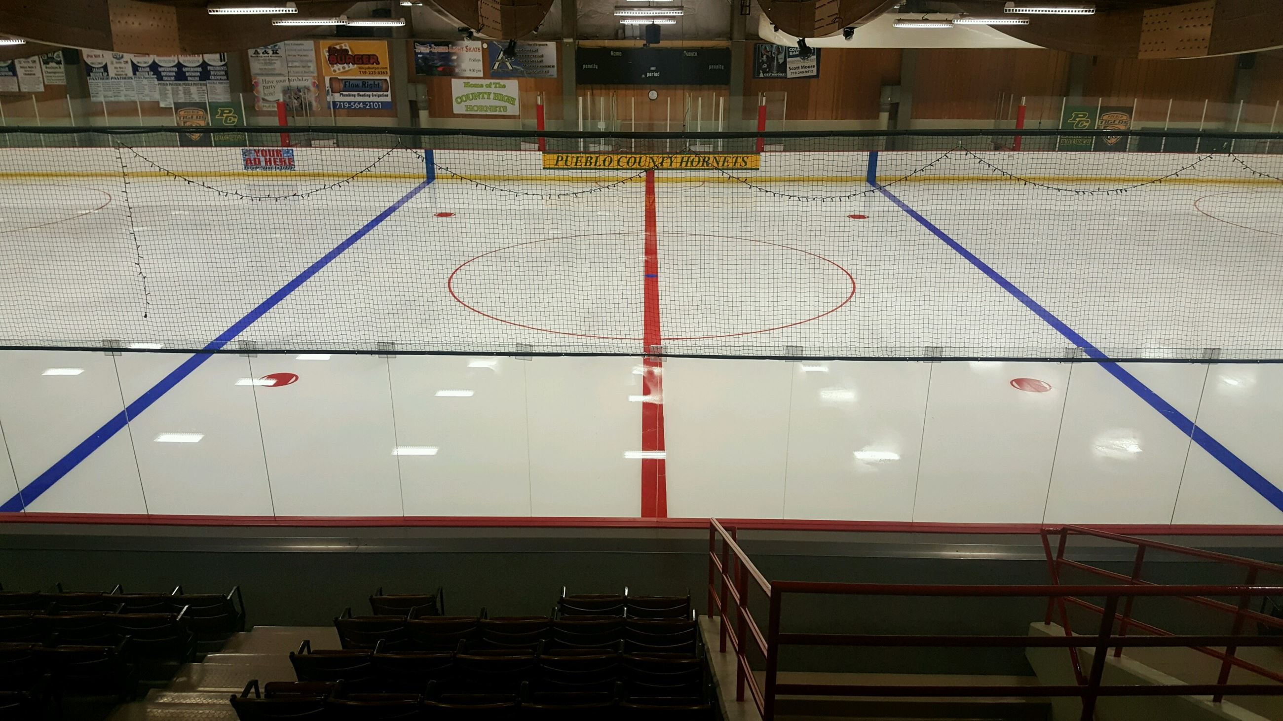 Image of new Ice at arena 2018
