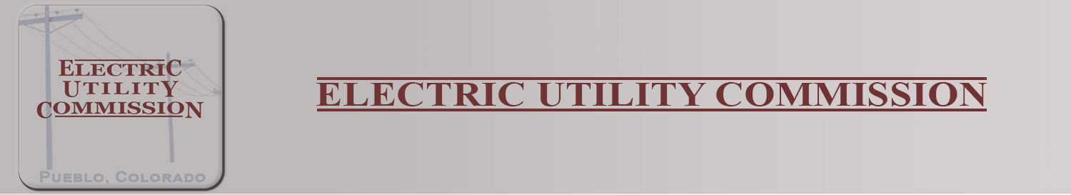 Electric utility commission banner