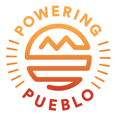 Powering Pueblo full-color logo