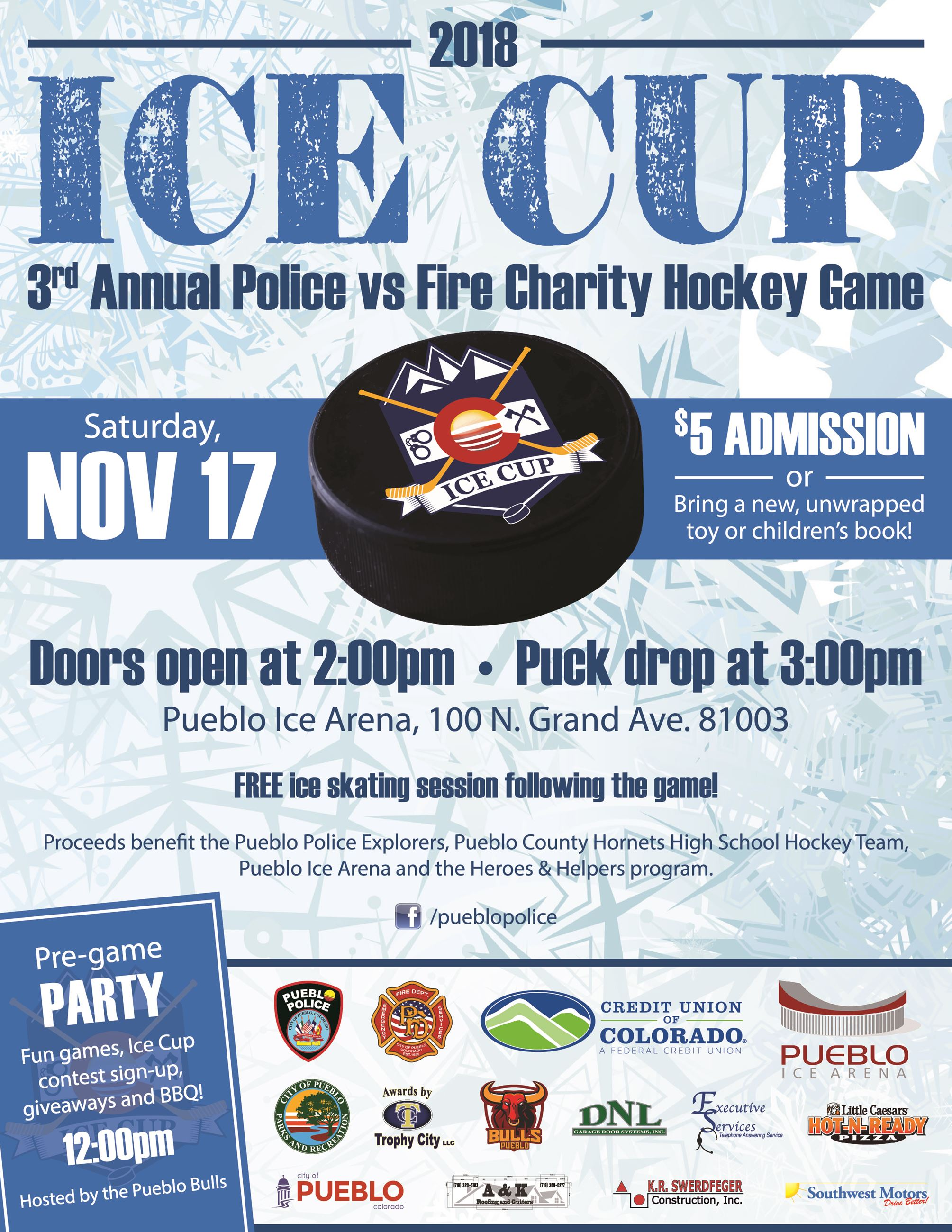Image of Ice Cup Flyer 2018