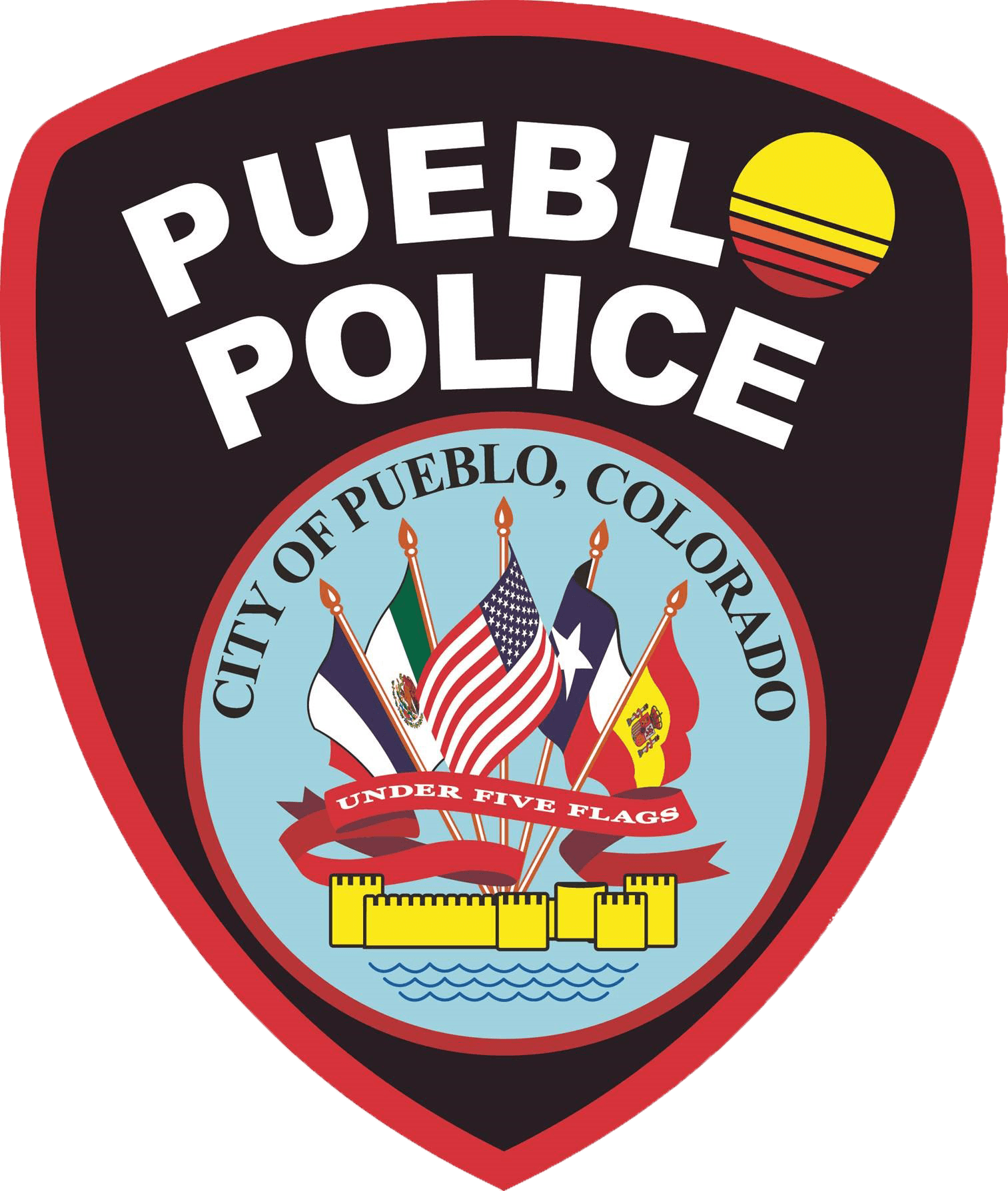 Pueblo Police Patch