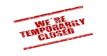 Temporary closed