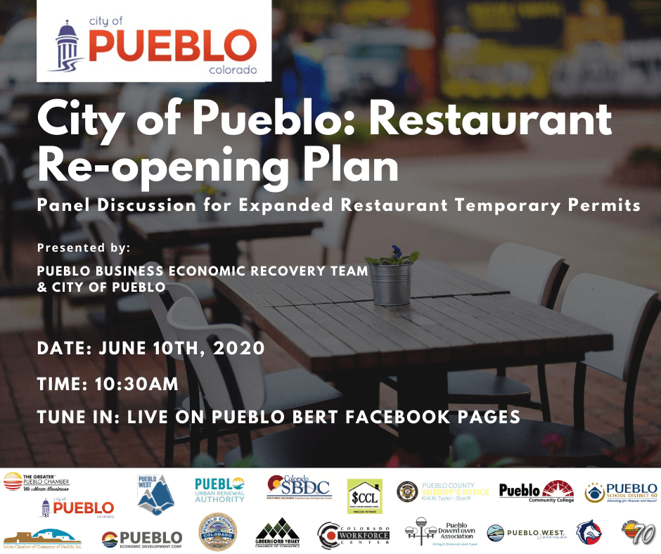 Social Media Graphic - City of Pueblo Webinar
