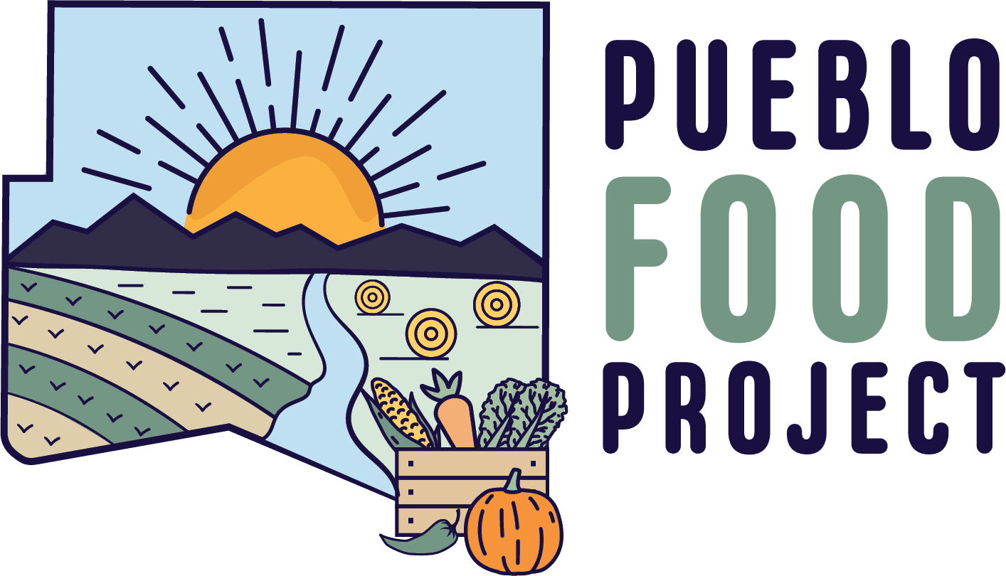 Pueblo Food Project logo