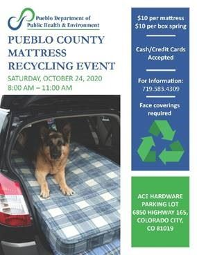 Pueblo County Mattress recycle event