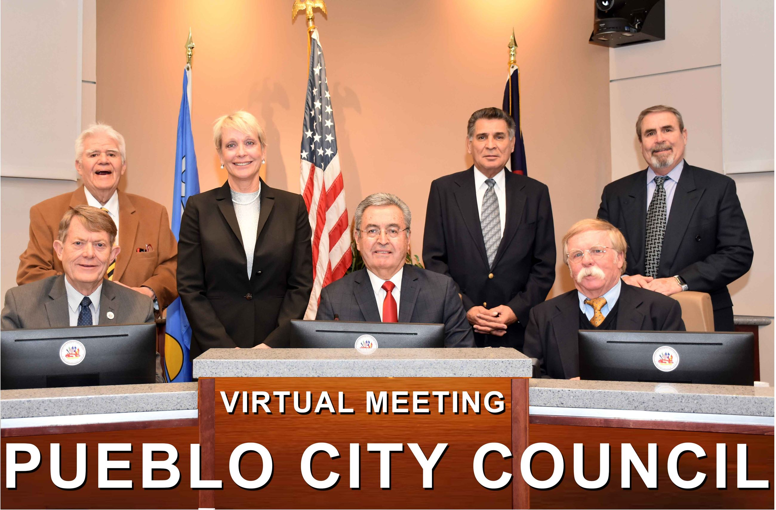 2020 Group photo of council members