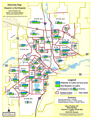 2010 Census Maps | Pueblo, CO - Official Website