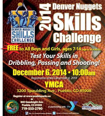 Pueblo Parks and Rec Denver Nuggets Skills