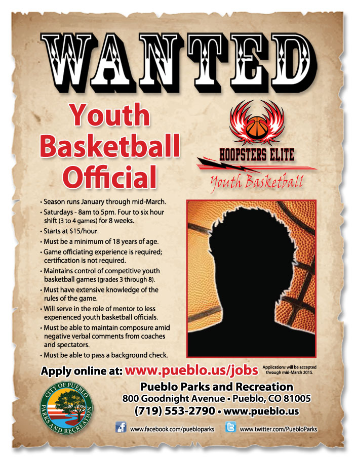 Pueblo Parks and Rec - Youth Basketball