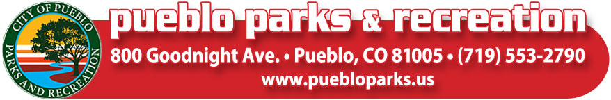 Pueblo Parks and Rec Contact Footer