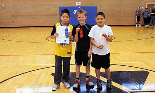 Pueblo Parks and Rec 2014 Denver Nuggets Challenge