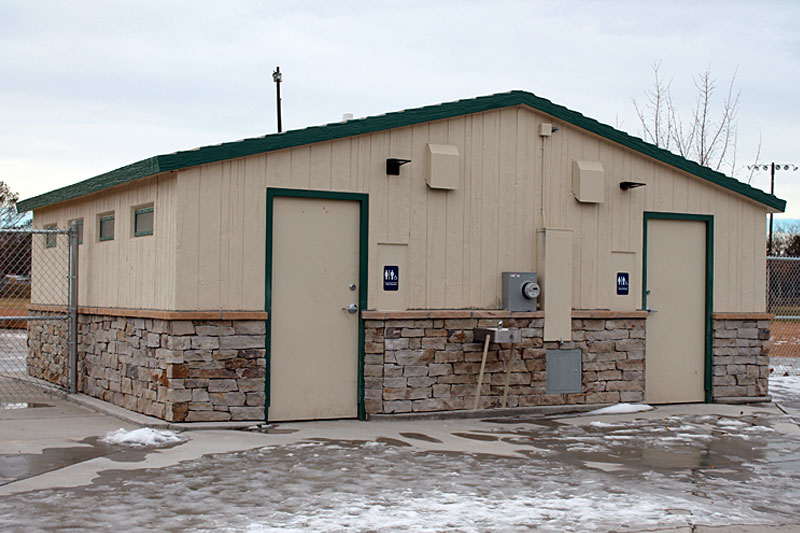 Pueblo Parks and Recreation City Bark at City Park Restrooms