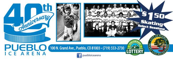 Pueblo Ice Arena - 40th Anniversary Celebration