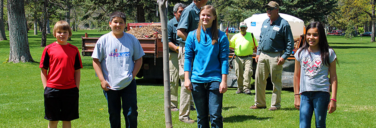 2015 Arbor Day - Pueblo Parks and Recreation