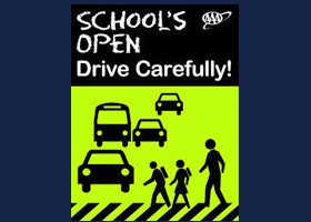 Schools Open - Drive Carefully